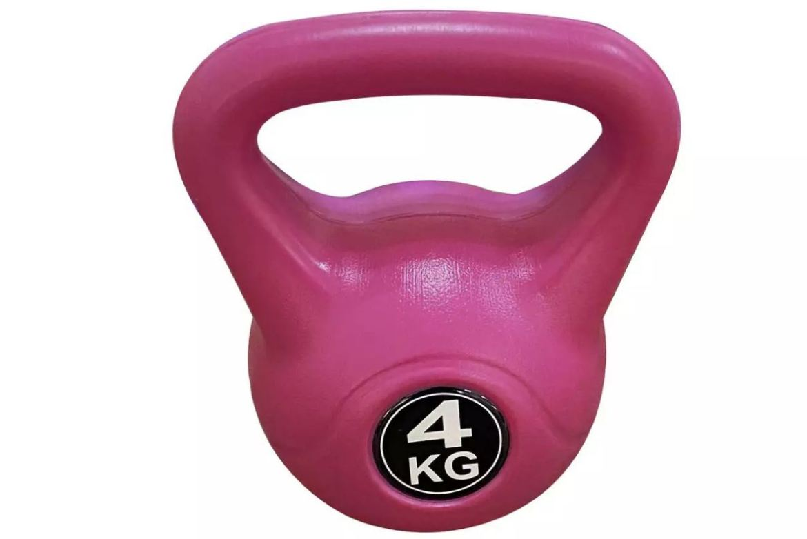 This 4kg ketlebell is £8.09 at Argos