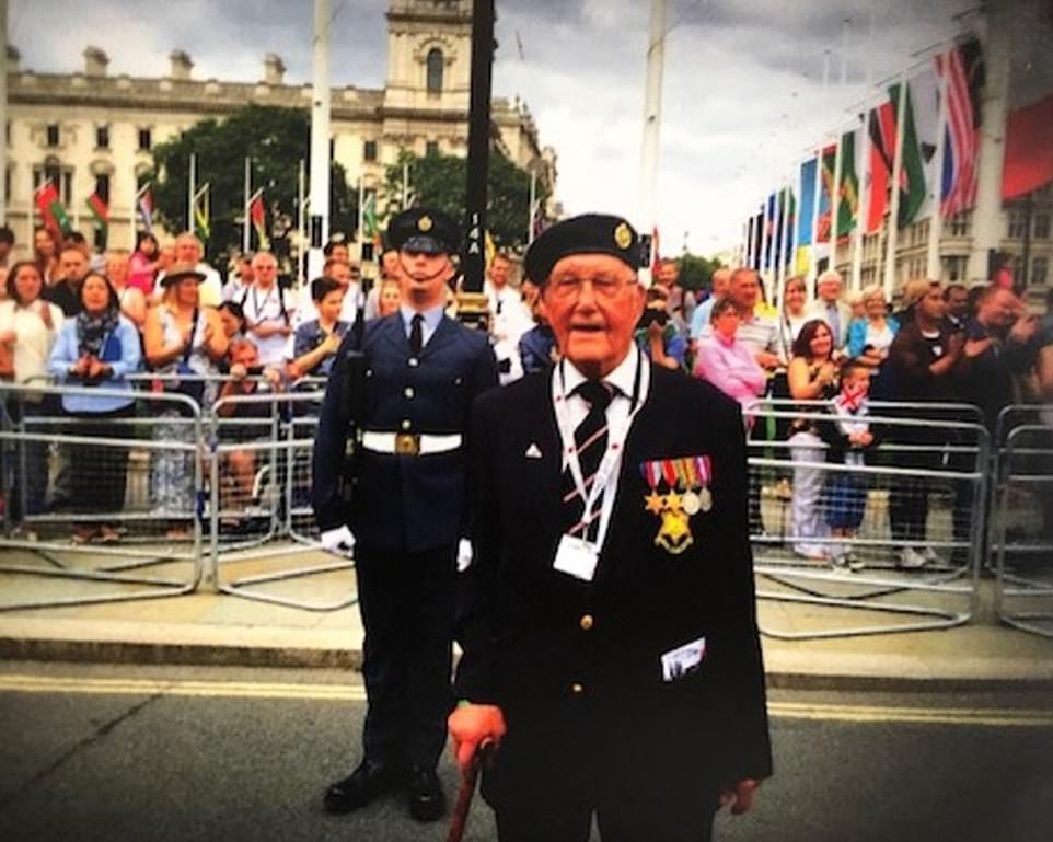 Arthur Clark, 99, an RAF veteran, says he is yet to receive his Covid vaccination despite the programme starting a month ago