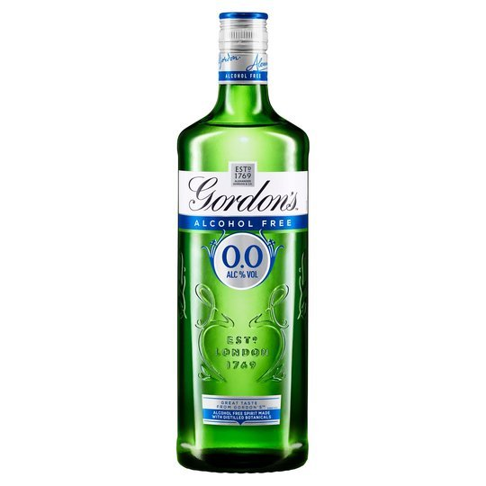The alcohol-free spirit is £12 with your Clubcard