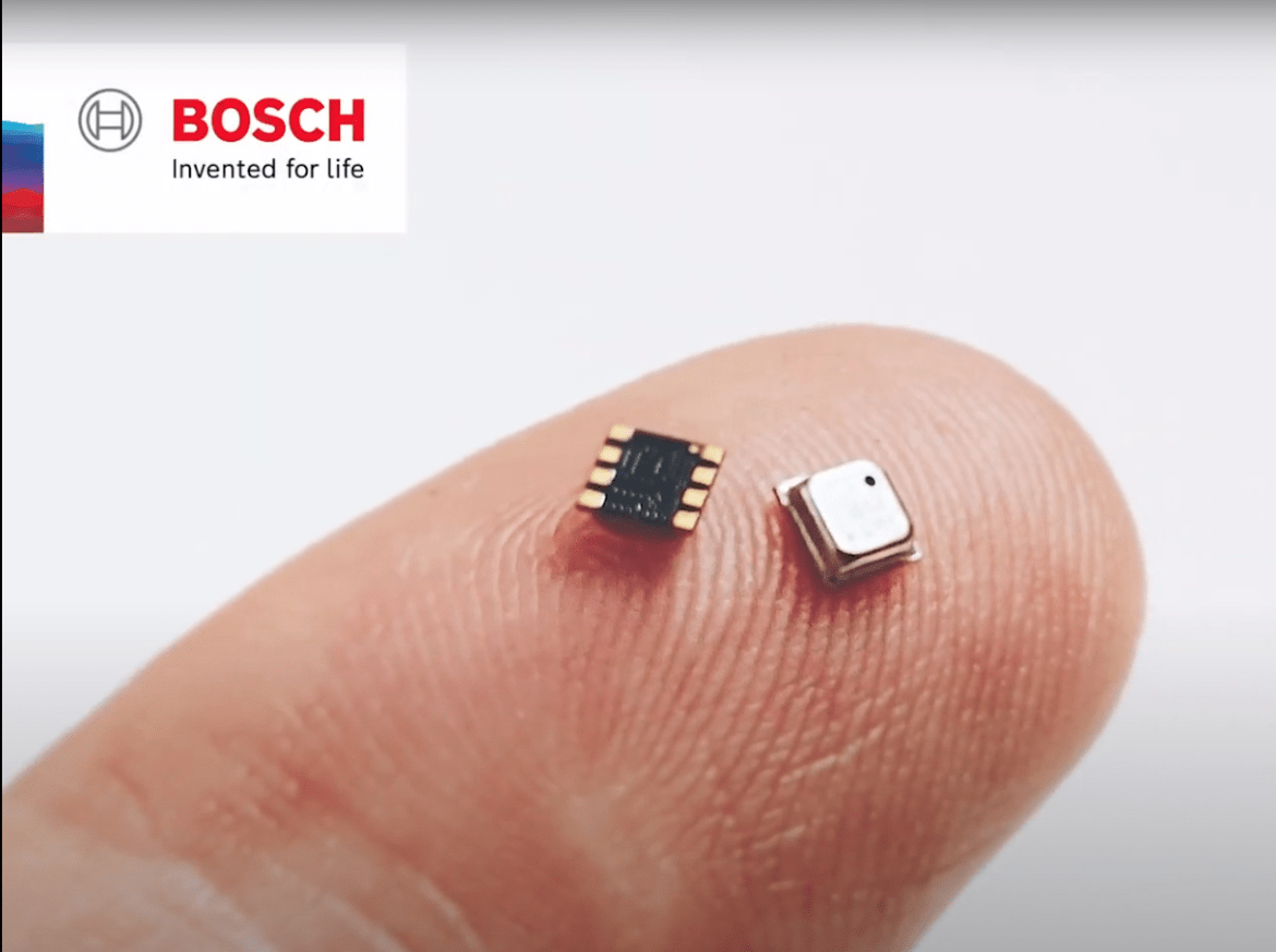 Bosch introduced a sensor that measures factors such as air quality and relative humidity – data that is important in the fight against coronavirus.