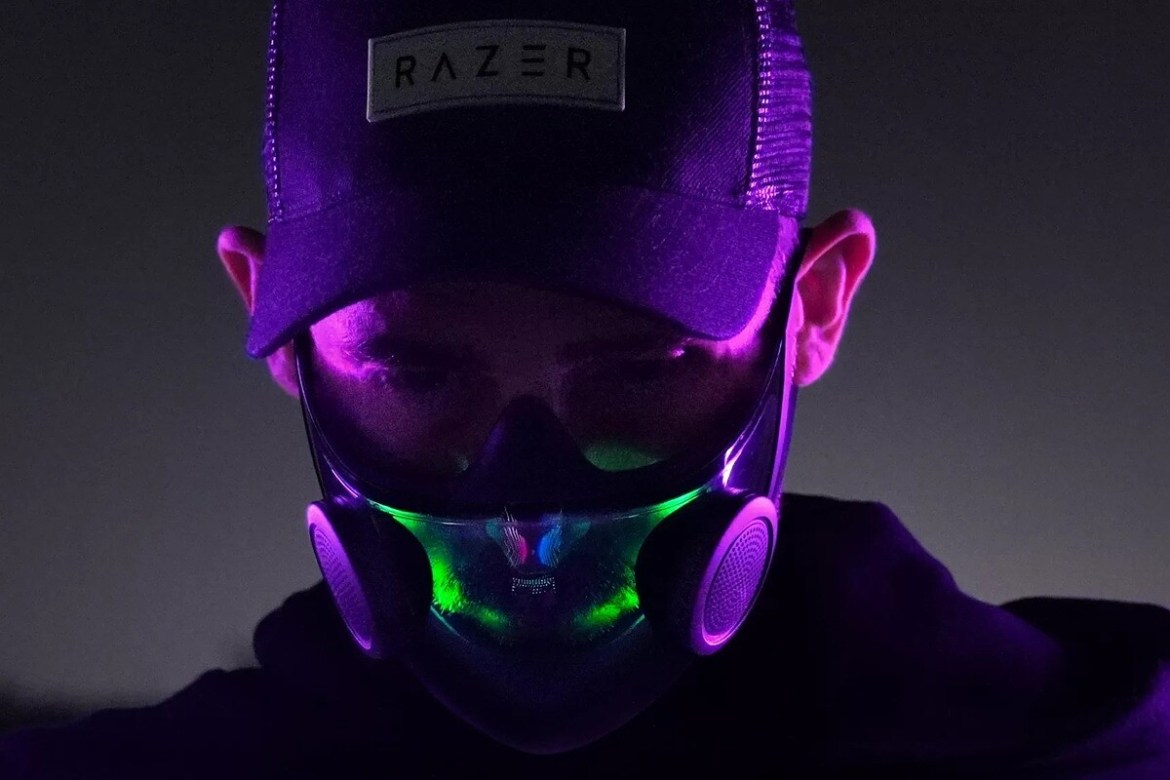 Razer Project Hazel N95 mask