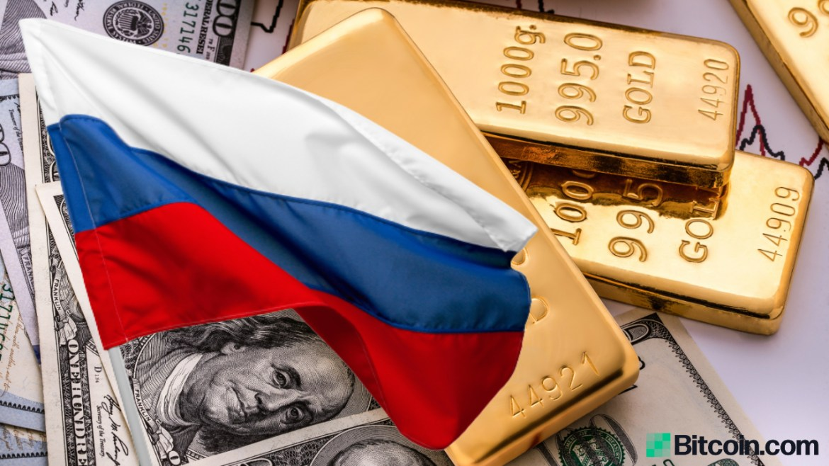 Russia Now Holds More Gold Than U.S. Dollars in $583 Billion Reserves as Putin Makes De-Dollarization Key Policy