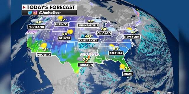 Forecast for Jan. 6, 2021.