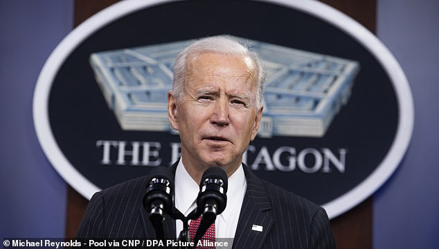 Although the US is on track to hit President Biden's goal of 100 million shots given in 100 days, officials in his administration are concerned vaccine manufacturing can't keep up with the current pace