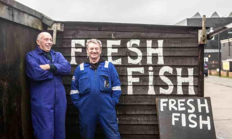 Fishermen Paul Joy and Mark Ball