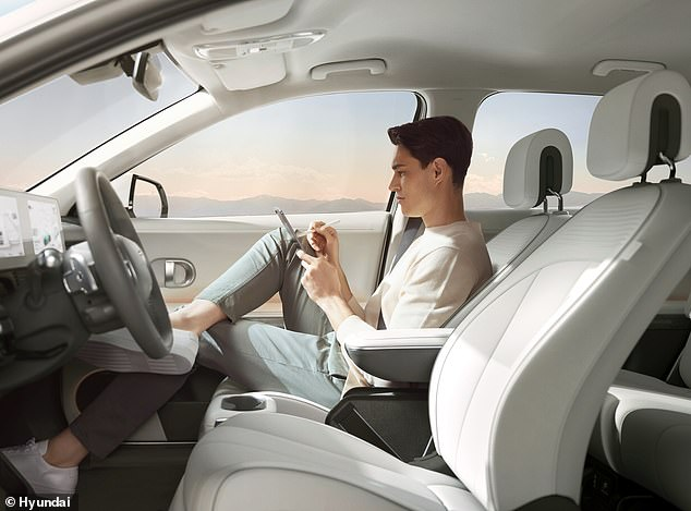 The Ioniq 5 is unlike any other EV in this segment in that it offers flexible seating, with chairs that can independently be moved around the cabin