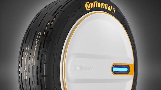 Continental CARE future tire concept