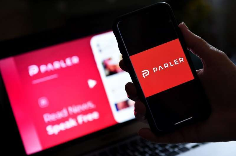 Conservative-friendly social network Parler announced it was relaunching