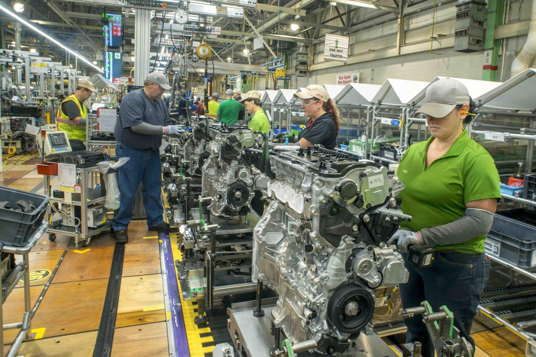 Toyota WV engine production
