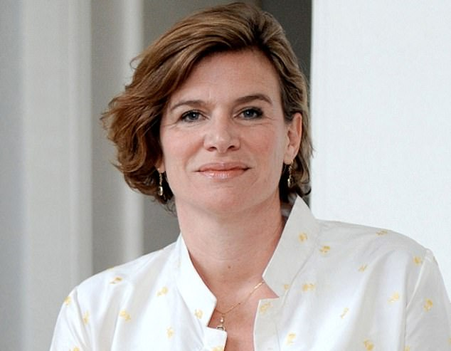 Reach for the stars: Economist Mariana Mazzucato (pictured) says we need the same level of boldness that sent astronauts to the moon to tackle the many problems Britain is facing