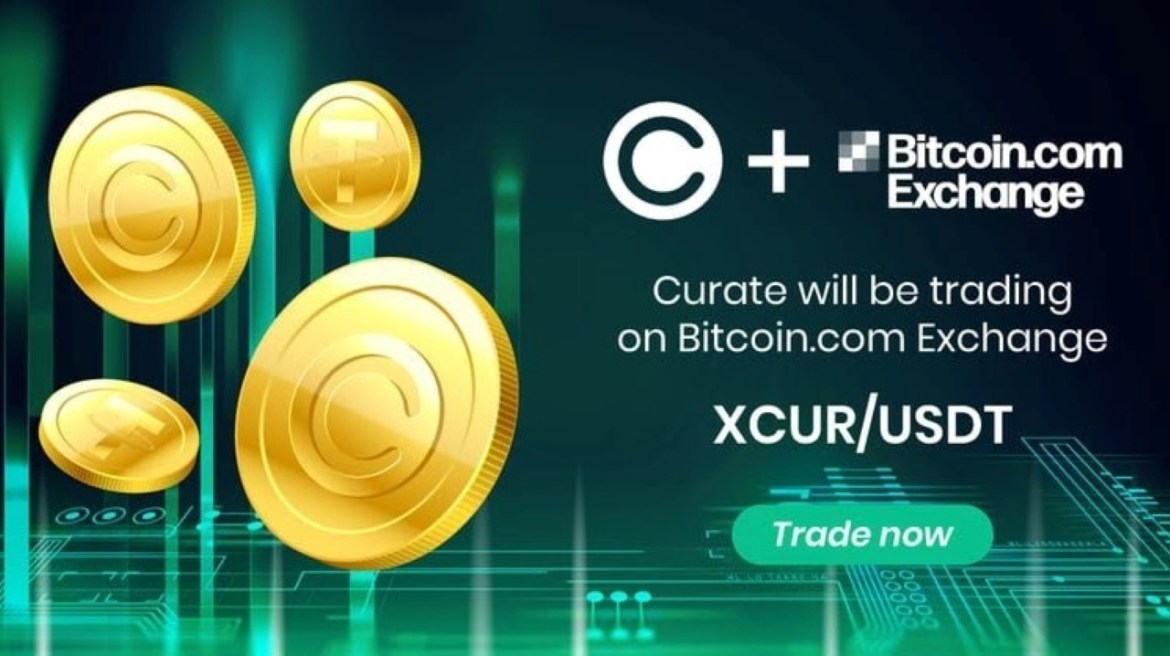 Bitcoin.com Exchange to List XCUR, the Token Behind Curate's All-in-One Marketplace