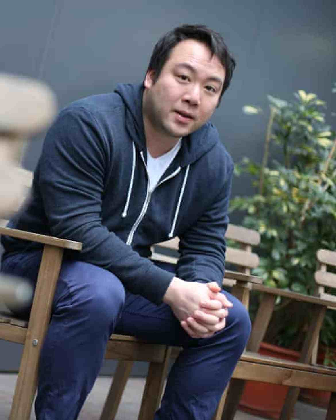 Deliveroo founder William Shu.