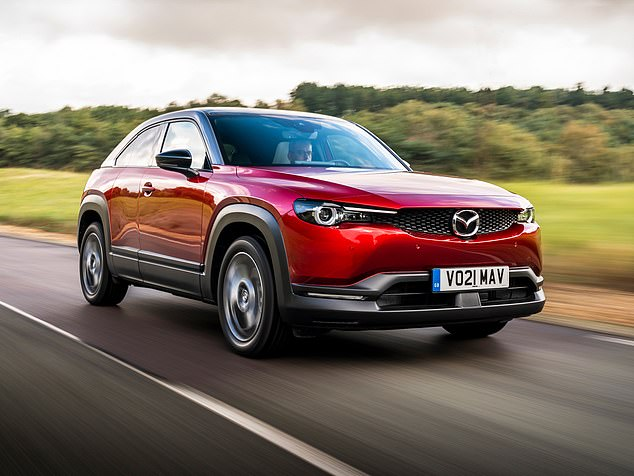 Mind the gap: Mazda's new family-focused MX-30 features a pillar-less design