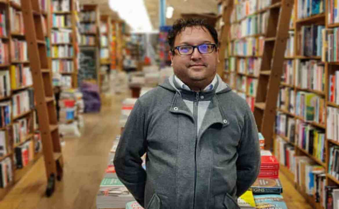 Saber Khan of Topping and Company Booksellers is confident people will come back to browse and buy.