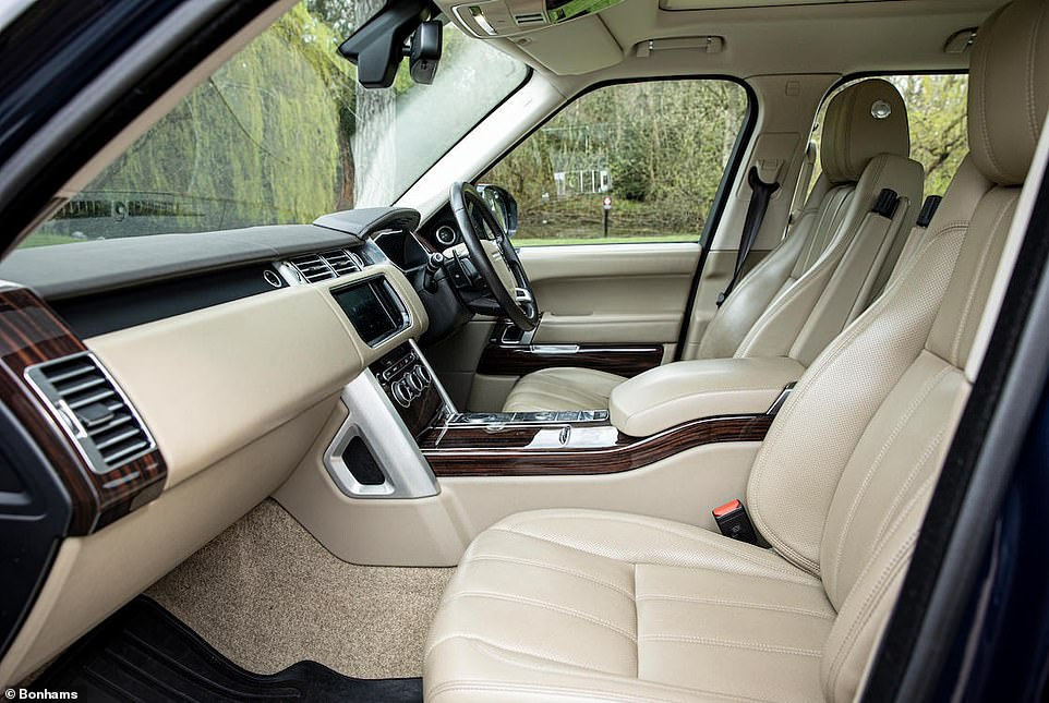 While the mileage of this example is lower than you'd expect from an eight-year-old motor, the estimate takes into account the premium added by the first owners