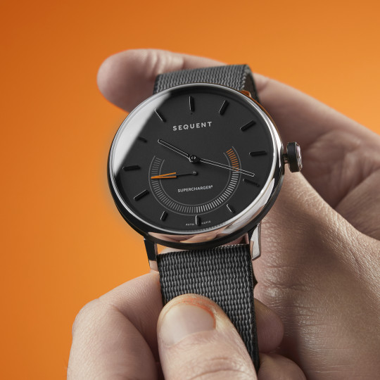 The SuperCharger2 is a pretty fine looking timepiece (Sequent)
