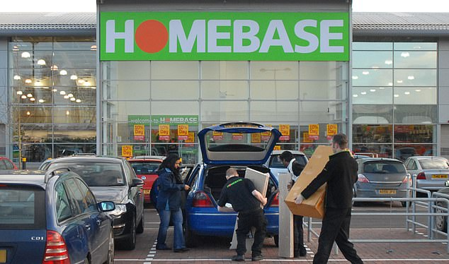 For sale:Most of Homebase remaining 164 stores returned to profit last year