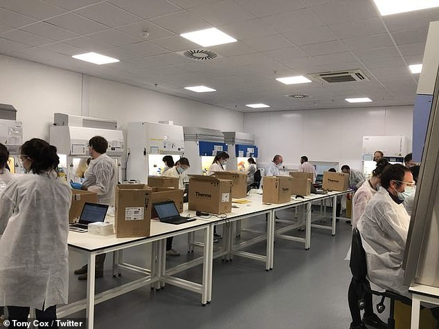 There have been no reports of Covid outbreaks linked to testing centres. But there was an outbreak at the Milton Keynes Lighthouse Lab where swabs are processed last December