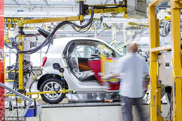 Part of the agreement with Daimler will see Ineos continue making Smart EQ ForTwo models - the compact electric-powered city cars - at the facility