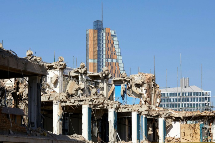 London is the world leader when it comes to low carbon office development. Demolition of the former UGLI office building in White City was part of a redevelopment
