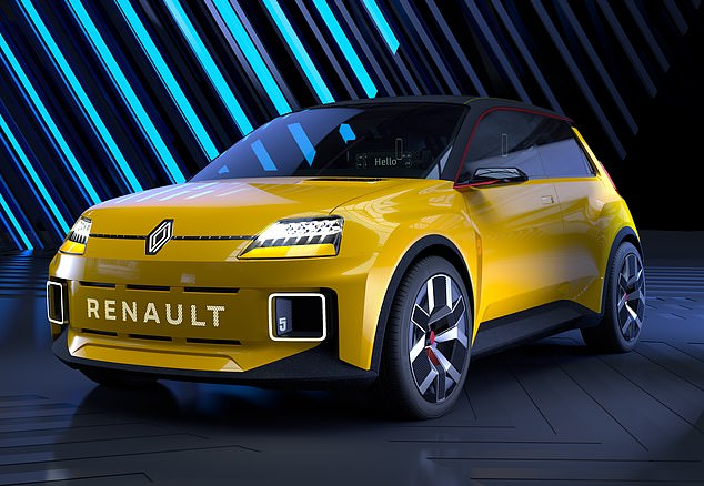 A Renault 5 for the 2020s: The French car giant has revealed a concept car but will a new electric Renault 5 really end up looking like this
