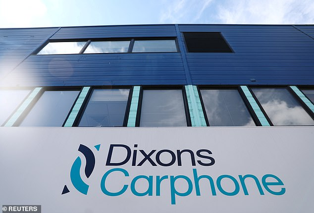 Rebrand: FTSE 250 electricals retailer Dixons Carphone revealed plans to rename all its UK and Ireland shops as Currys