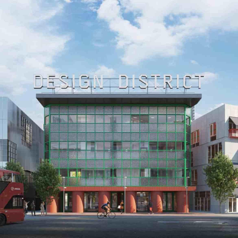 Po-Mo revival … David Kohn Architects' design.