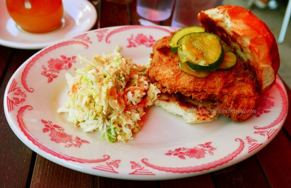 indulge like a food in NYC - what to eat in New York Bob White fried chicken