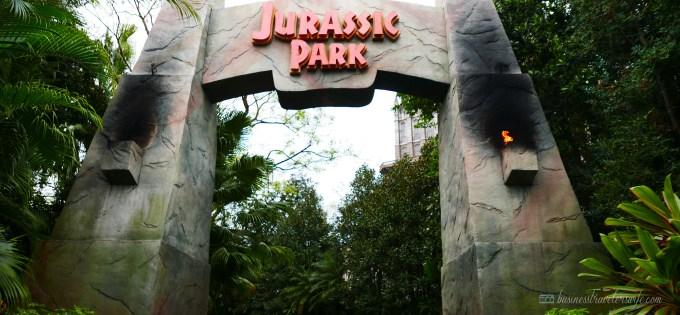 visiting universal orlando: islands of adventure - Jurassic Park Adventure