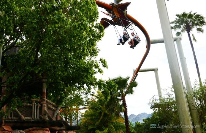 visiting universal orlando: islands of adventure - Pteranodon Flyers