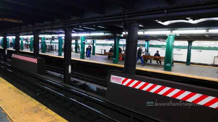 tips for tourists visiting New York - subway