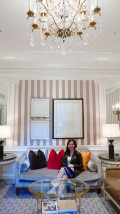 luxurious St. Regis New York Hotel - living room