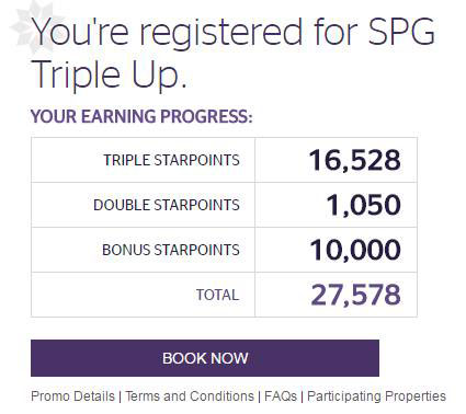Best SPG Hotel Promo To Date: SPG Triple Up