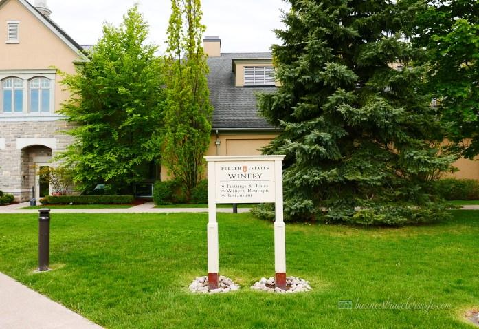 Appreciating Wine: Vineyard and Winery Tour at Niagara-on-the-Lake Peller Estates Winery