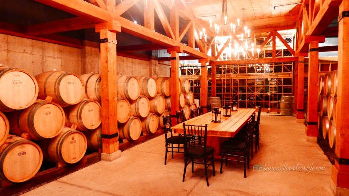 Appreciating Wine: Vineyard and Winery Tour at Niagara-on-the-Lake Trius Winery Red Barrel Cellar