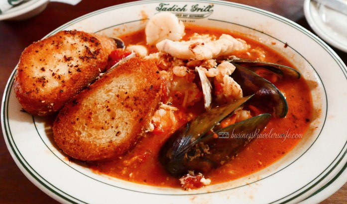 6 Amazing Places to Eat in San Francisco seafood cioppino Tadich Grill