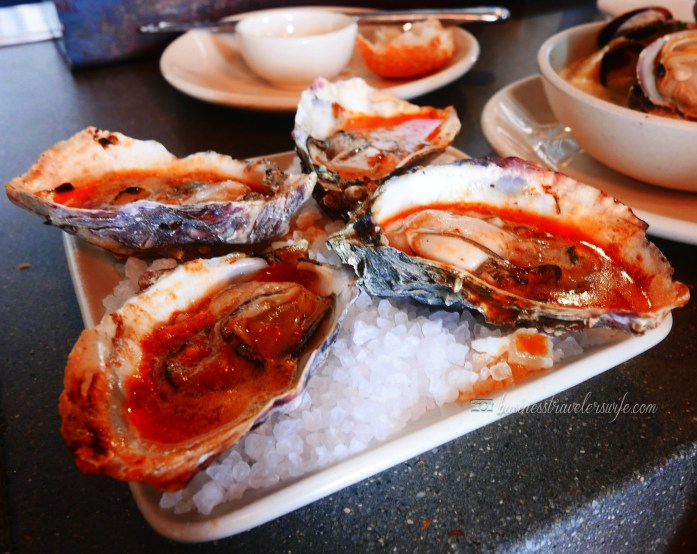 6 Amazing Places to Eat in San Francisco Hog Island Oyster Co BBQ Bourbon Chipotle Butter