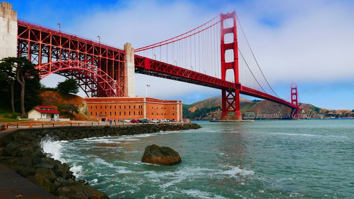 sights to see in san francisco golden gate bridge fort point view