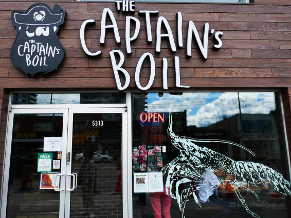 When in Toronto: The Captain's Boil Seafood Restaurant Craving