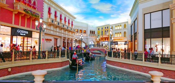 Hotel Review: The Venetian Las Vegas Grand Canal Shoppes