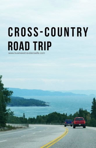 cross-country roadtrip drive from calgary to toronto