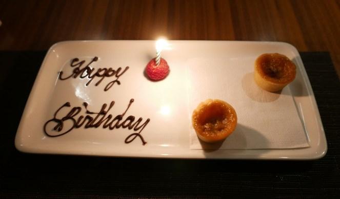 Toronto Jacobs & Co. Steakhouse romantic dinner birthday