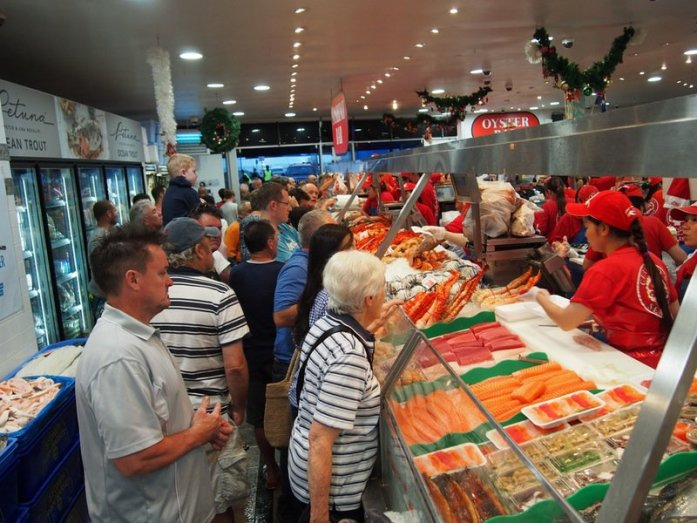 10 Must-Visit Christmas Markets Around the World for Foodies Sydney Fish Market 36 hour seafood marathon