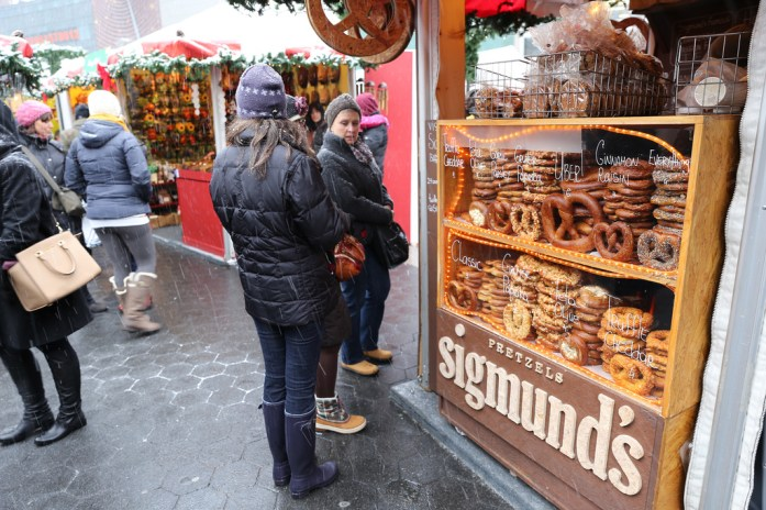 10 Must-Visit Christmas Markets Around the World for Foodies Union Square Holiday Market