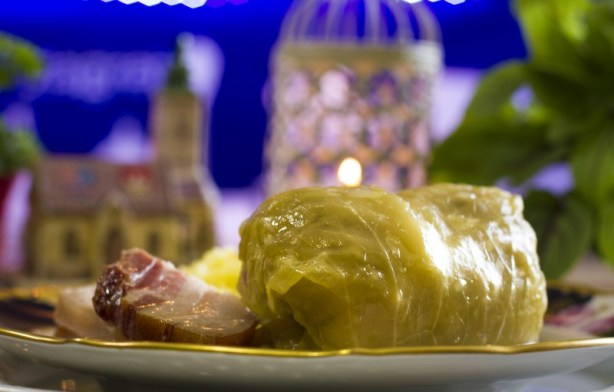 10 Must-Visit Christmas Markets Around the World for Foodies Zagreb Croatia Advent Sarma with mashed potatoes sour cabbage rolls stuffed with minced meat