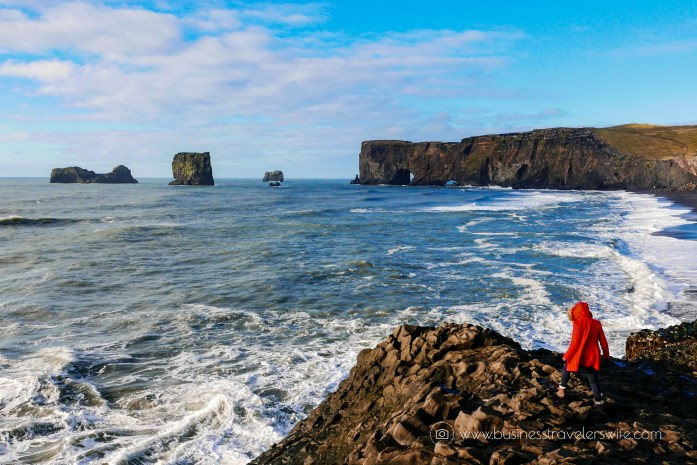 Traveling to Iceland itinerary and pictures Kirkjufjara Black Sand Beach by Dyrholaey