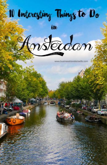 10 Interesting Things to Do in Amsterdam Canals