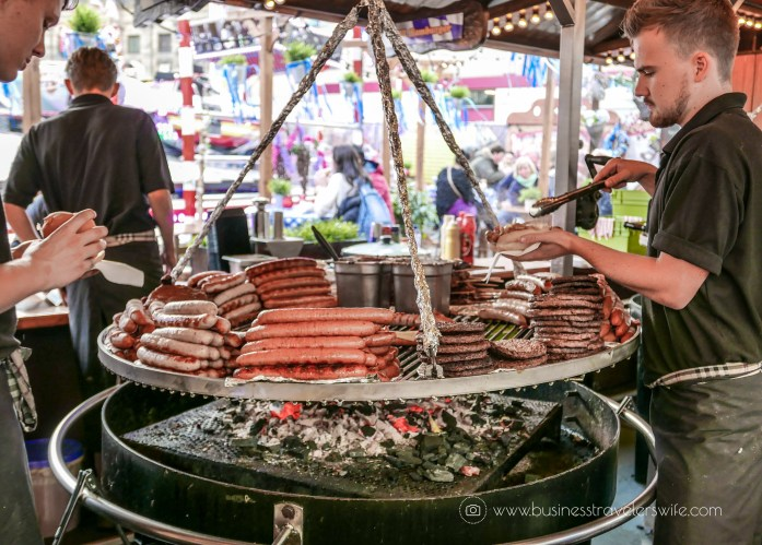 10 Interesting Things to Do in Amsterdam - Grilled Sausages Burgers (1 of 1)