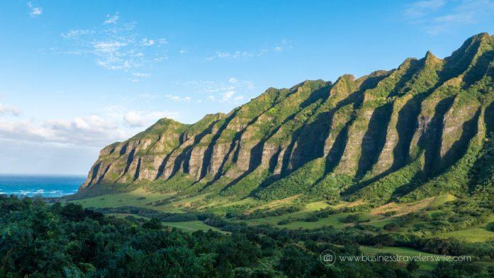 ATV Tour in Kualoa Ranch Oahu Mountain Ridge View Pacific Ocean (1 of 1)