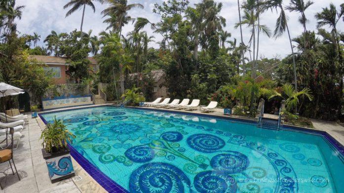 Eat Like a Local in Bahamas Tru Bahamian Food Tours' Bites of Nassau Graycliff Chocolatier Hotel and Restaurant Pool